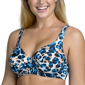 Miss Mary Jungle Summers Underwire Bikini Bra Blå Mönstrad D 95 Dam