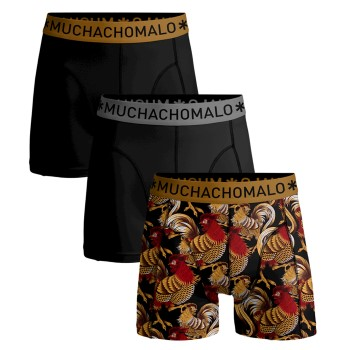 Muchachomalo 3-pack Cotton Stretch Boxers Rooster * Kampanj *