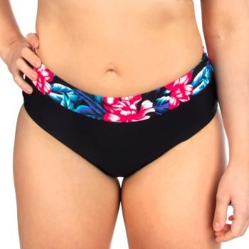 Trofe Tropical Bikini Brief Svart blommig 40 Dam