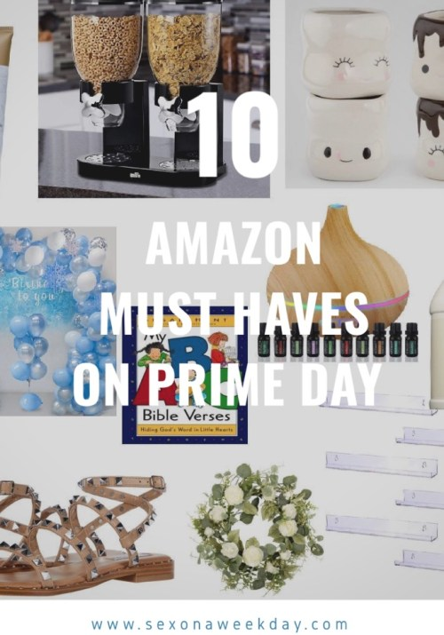 Top 10 Amazon Must Haves
