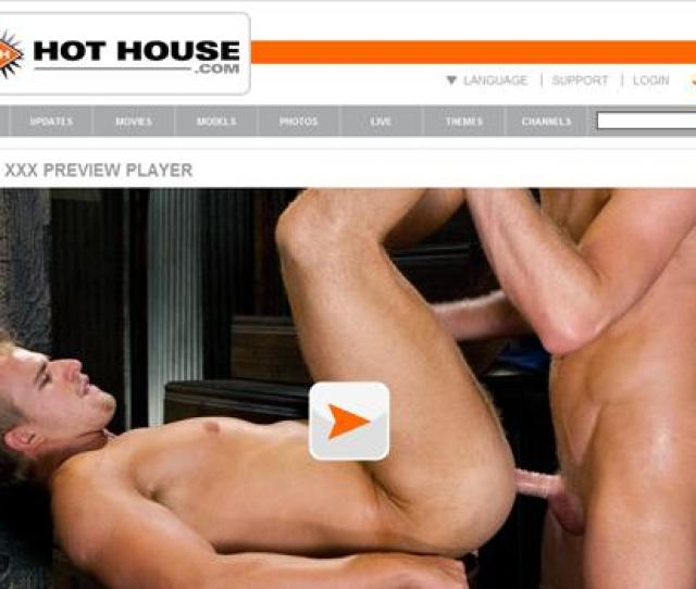 Strong Muscled Guys With Big Dicks In Amazing Gay Anal Porn Hot House