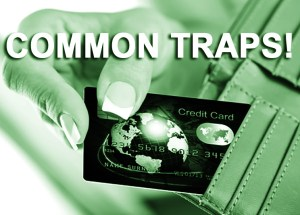 4 Common Credit Card Traps You Should Totally Avoid