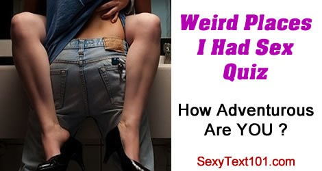 weird places to have sex