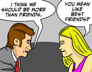friends zoned