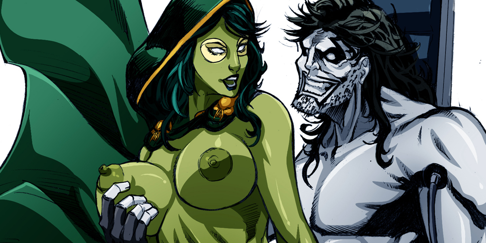 Fanart – Lobo and Gamora