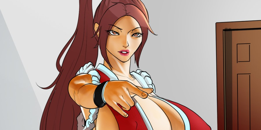 Final Boss Fighting Game NSFW Comic Series Mai Shiranui Sexyverse Comics Patreon