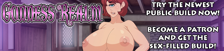 Goddess Realm NSFW RPG Visual Novel Game on Patreon