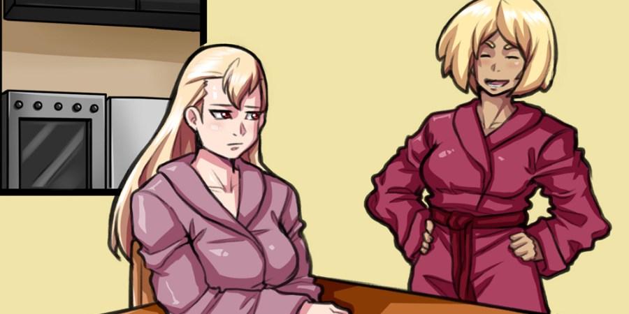 NSFW Sexyverse Comics Lesbian Futanari Lewd Webcomic Chapter 1 Page 4