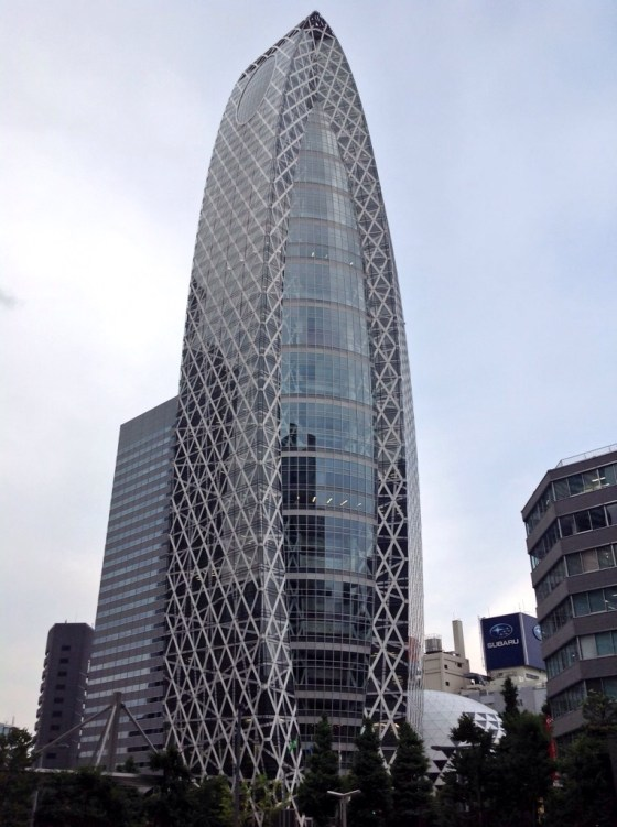 Mode Gakuen Cocoon Tower-Paul Tange