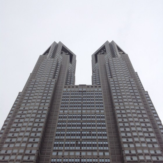 Tokyo Metropolitan Office Building-Kenzo Tange