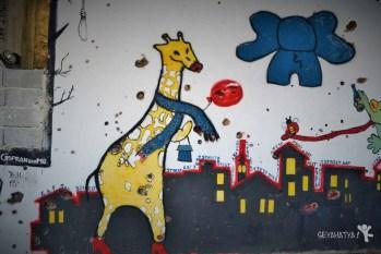 Mostarda Graffitiler by Seyahatyacom