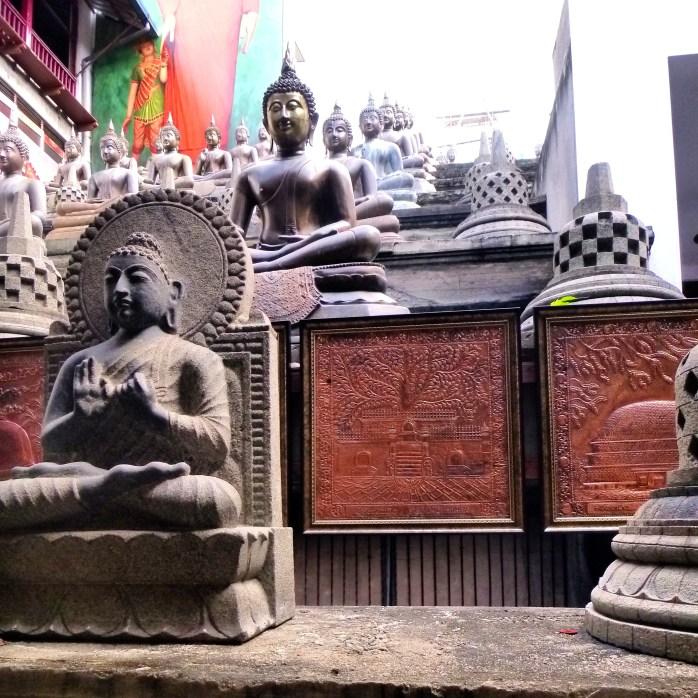 Gangaramaya temple Colombo Sri Lanka
