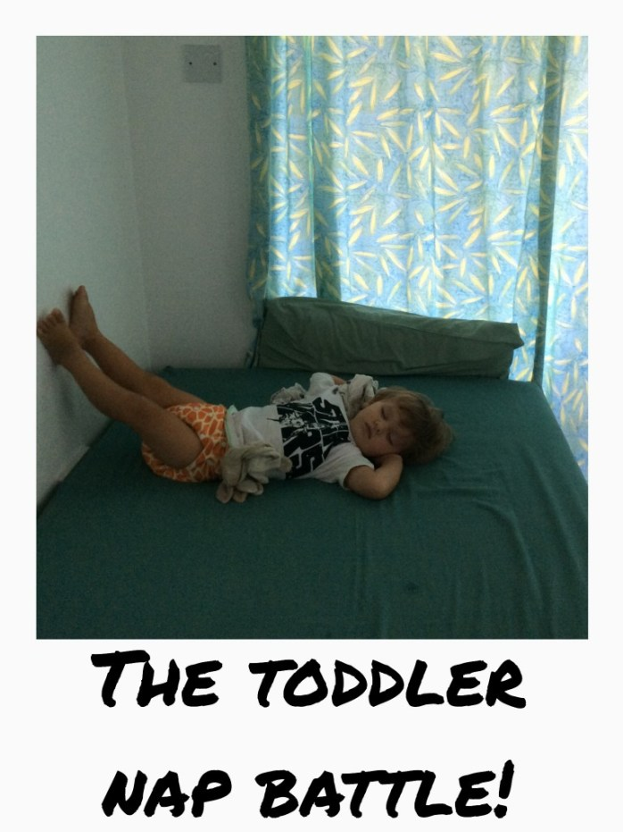 The toddler nap battle!