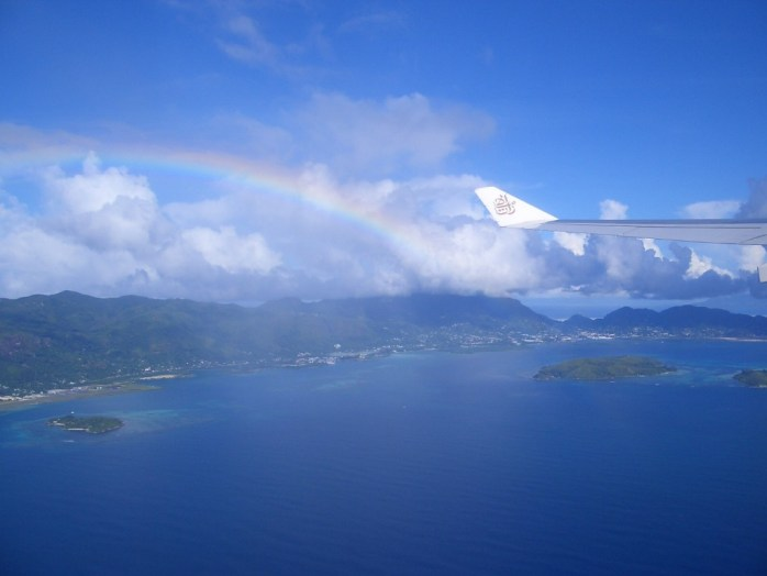 Paradise from above.  Seychelles