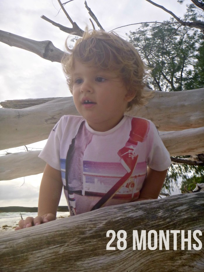 Arthur is 28 months old