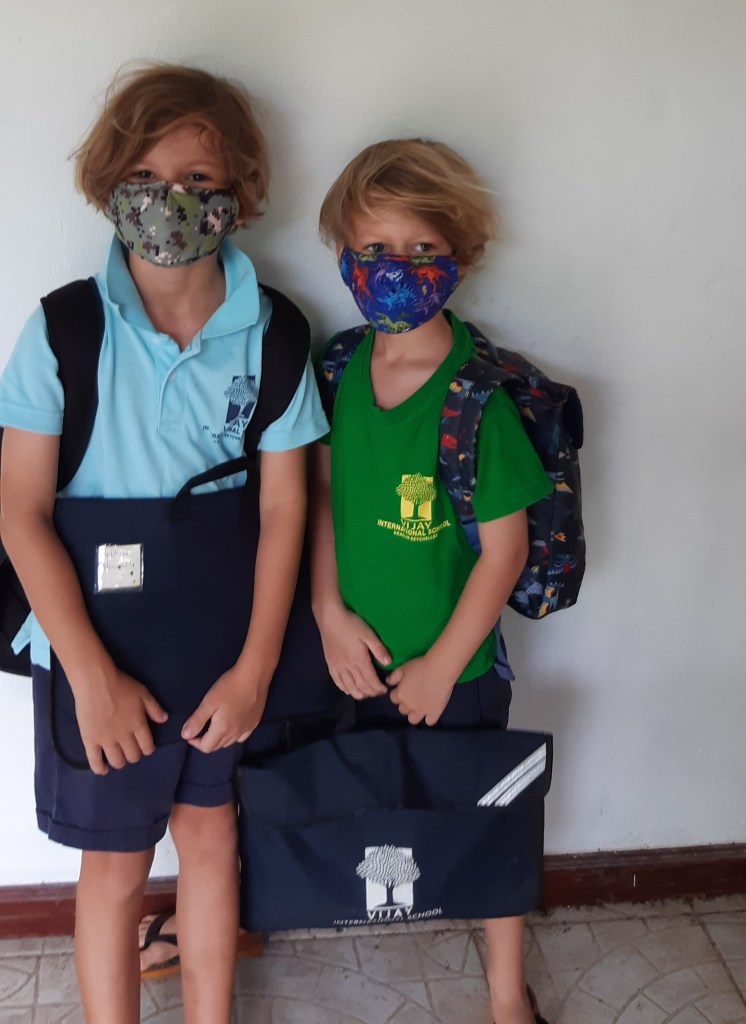 An Update from Seychelles- Back to School