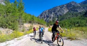 Cevizli Üzümdere İbradı Bisiklet Turu