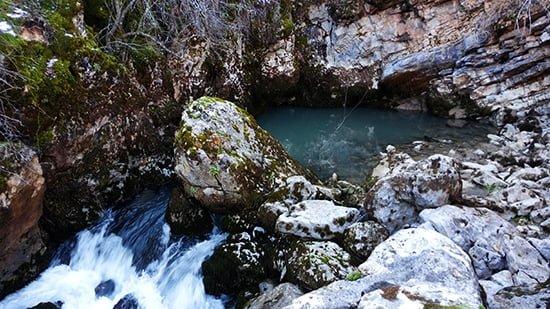 Su çıkan, Fasıh Mağarası