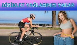 Bisiklet Sürmek Yağ Yakar