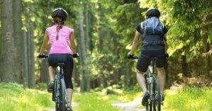 Doğada Bisiklet Sürmek