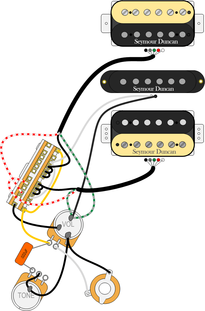 seymour duncan guitar wiring explored introducing the 5 way