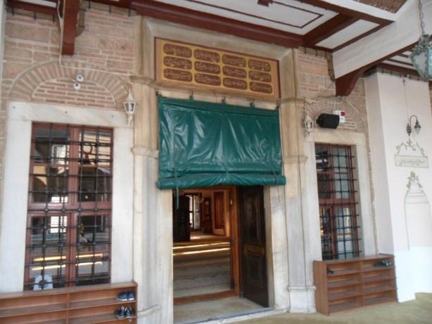 Emir Sultan Cami Giriş Kapısı