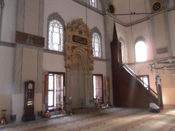 Emir Sultan Cami Mihrap ve Minber