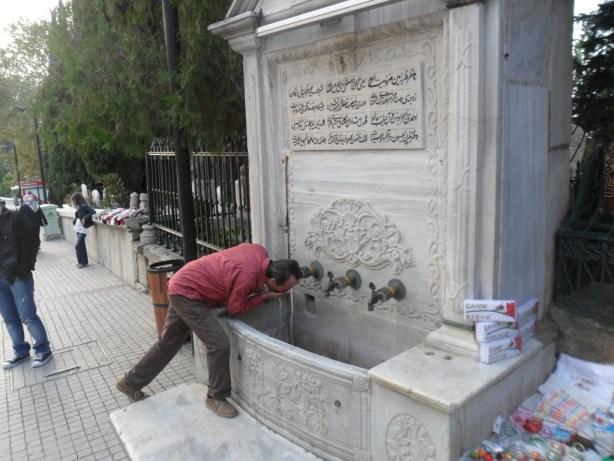 Tarihi Emir Sultan Çeşmesi