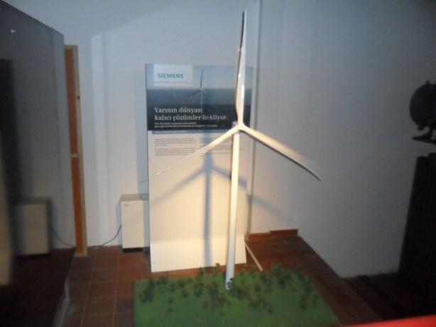 Siemens Rüzgar Türbini Maketi
