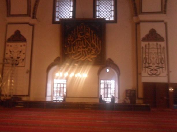 Bursa Ulu Cami Duvar Süslemeleri 3