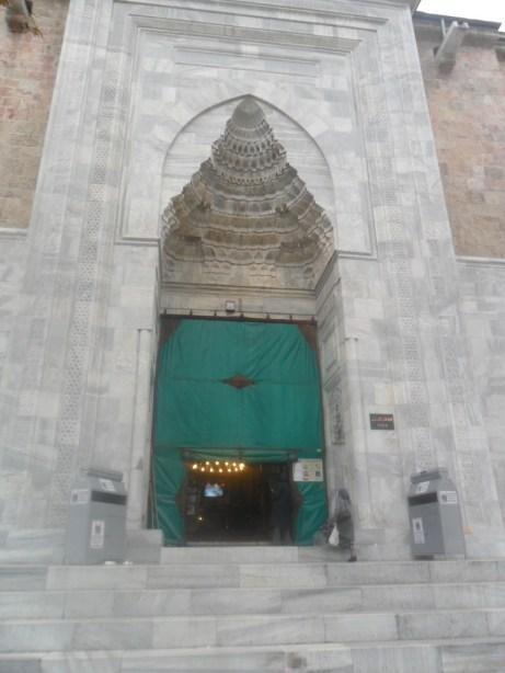 Bursa Ulu Cami Orta Kapı Dış Kısım
