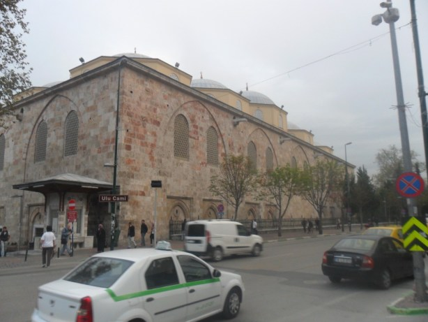 Bursa Ulu Cami Sol Çapraz
