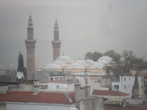Bursa Ulu Cami Üftade Türbesinden Çekim