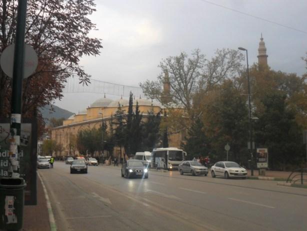 Bursa Ulu Cami Uzak Çapraz Çekim