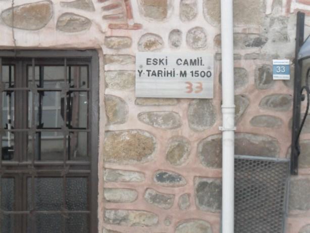 Eski Cami Yapılış Tarihi