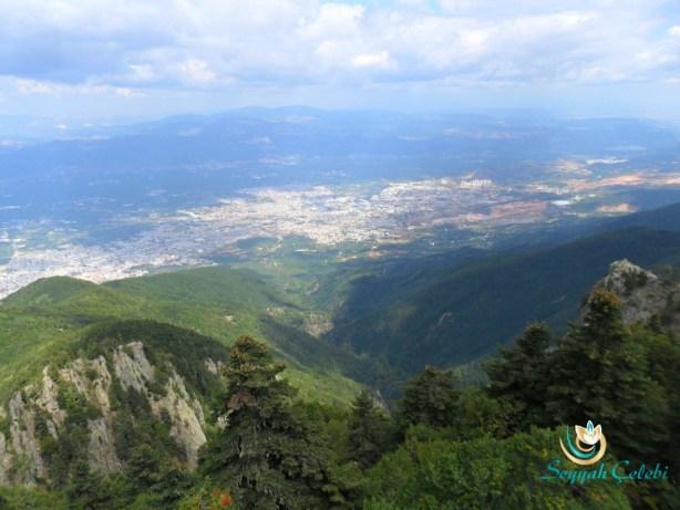 Bakacak Tepesinden Bursa Manzarası