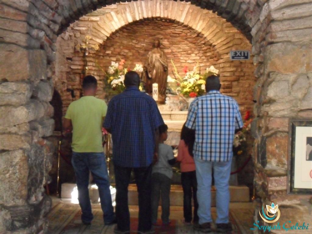 Meryem Ana Evi İç Kısım