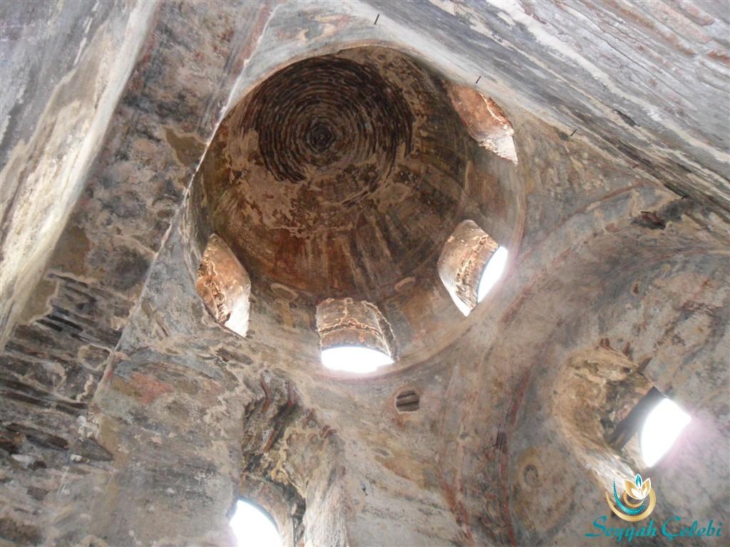 İznik Ayasofya Orhan Camii Kubbe Freskleri