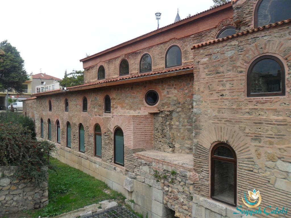İznik Ayasofya Orhan Camii Yan Dış Duvar
