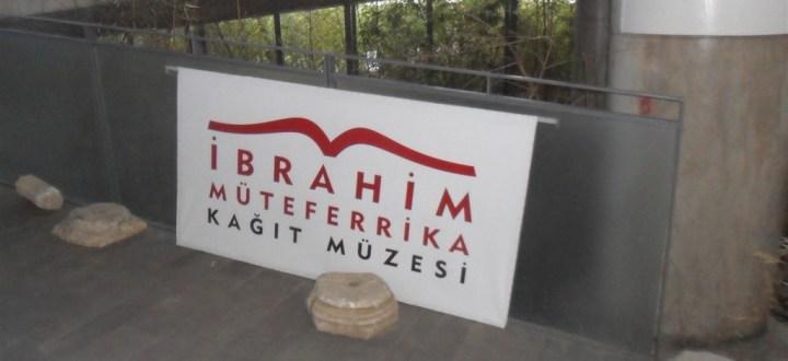 İbrahim Müteferrika Kağıt Müzesi