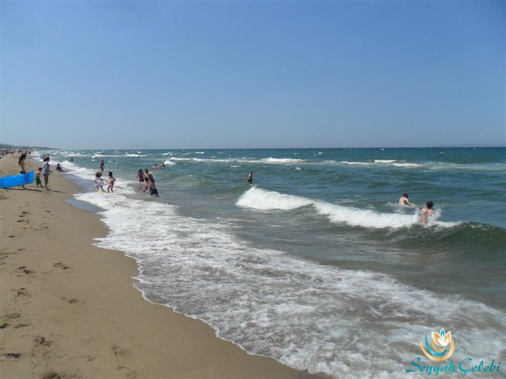 Eğerce Dalgalı Deniz