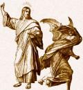 jesus vs demon 120x130 Die Piraten und das rechte Gespenst