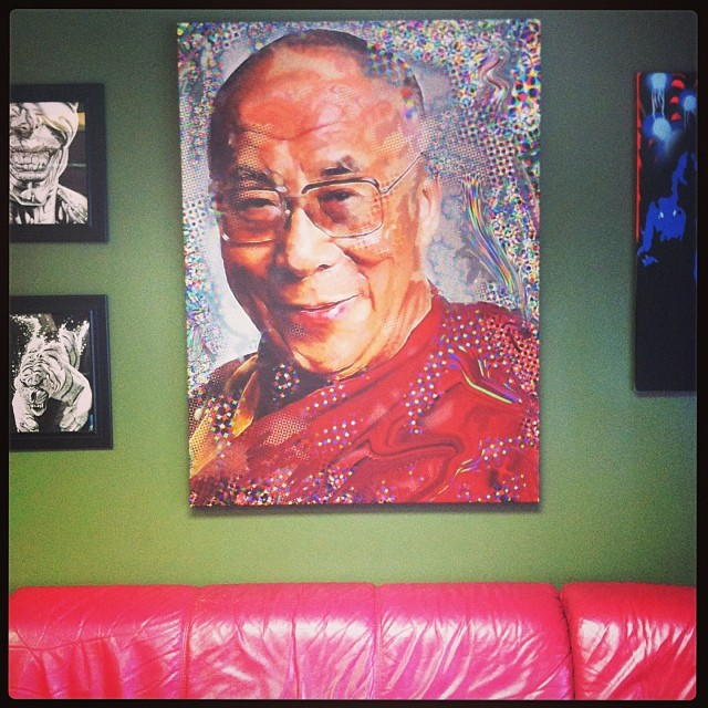 Just because there is a picture of His Holiness on the wall does not mean you will be treated with compassion.