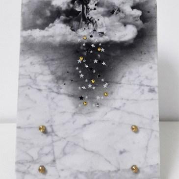 Plaque funéraire en marbre 6274 pour enfant