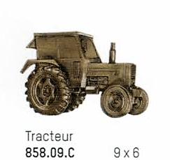 bronze tracteur