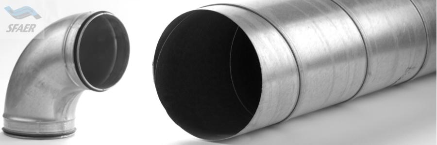tubo spiro canale lamiera