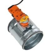 serranda di taratura aria 2 vie con motore Belimo CM230-L