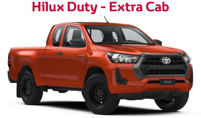 flückiger Autohaus - NEW TOYOTA NEW Hilux Duty - Extra Cab
