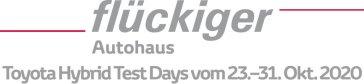 flückiger Autohaus - Toyota Hybrid Test Days vom 23.–31. Oktober 2020