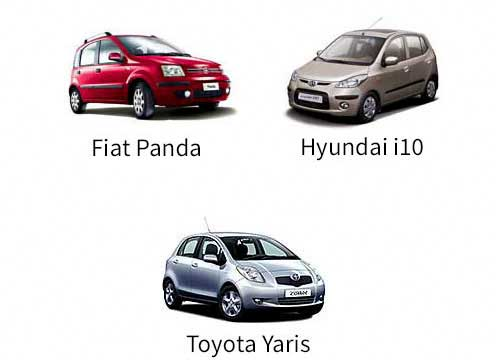 Hire cars